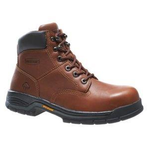NEW Wolverine Wms Harrison Steel Toe Boots 6.5 W